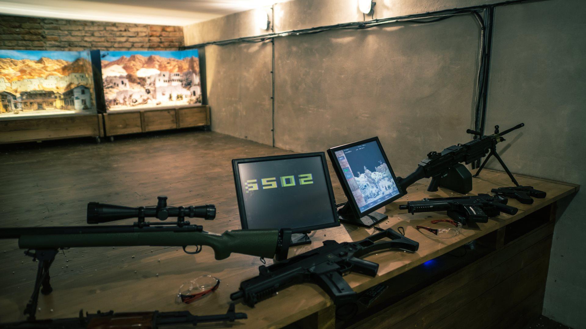 Activities Airsoft Shooting Range Funarena